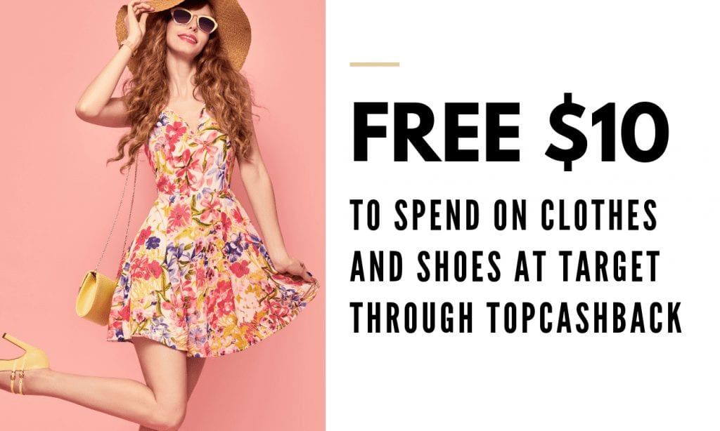 Free $10 to Spend on Clothes and Shoes