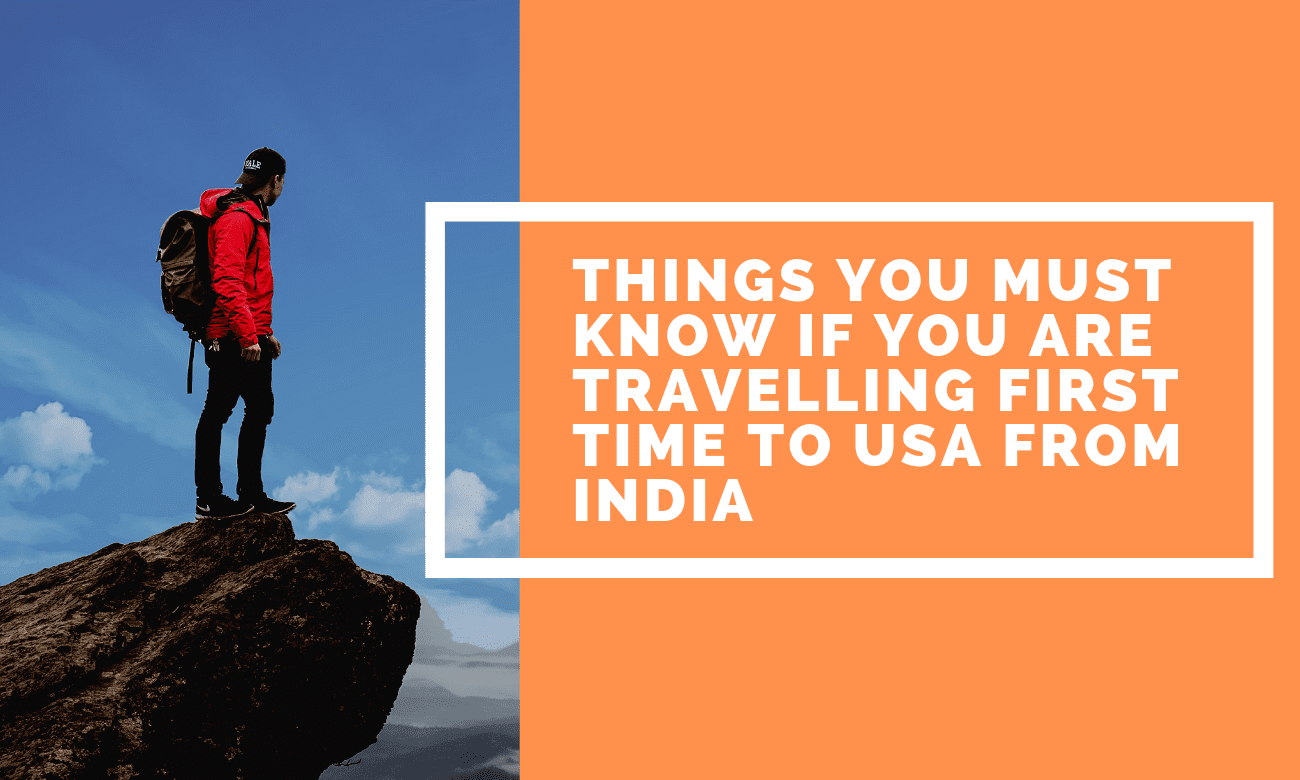 If you are an Indian then it is the must that you have dreamt to visit USA at least once in your lifetime. It is common to visit USA from India now a days.