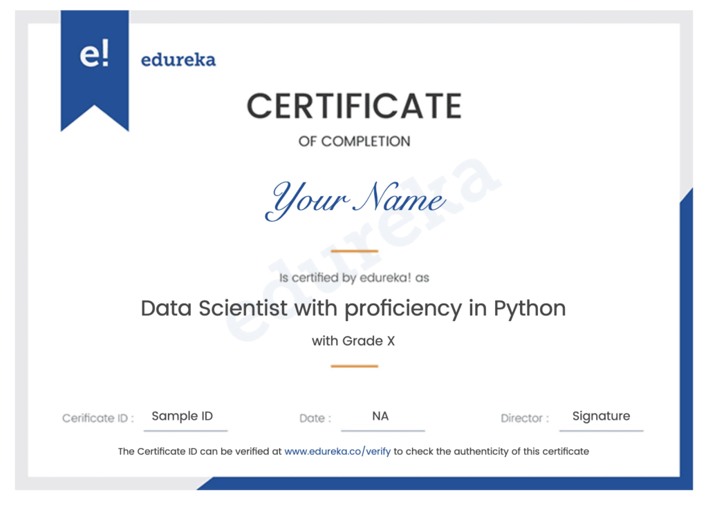 Best Python Courses for Beginner | Machine Learning | Data Science with Certification