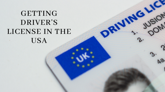 Getting driver's license in USA