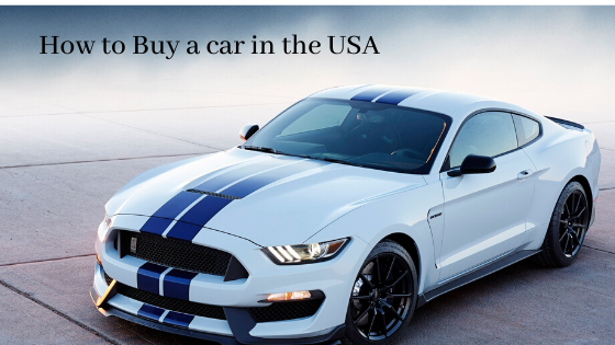 Buy a car in USA