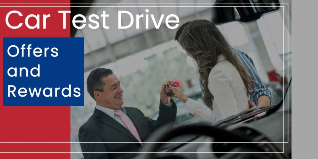 TEST DRIVE OFFERS